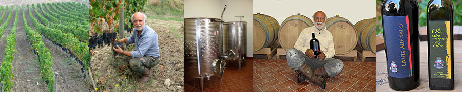 Agriturismo, wine and olive oil